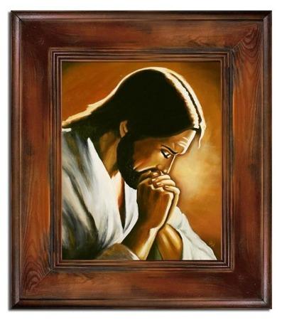 OBRAZ Religijny Motyw Chrystus 61x71cm