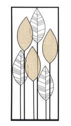 Dekoracja Ścienna metalowa złota H: 100 cm