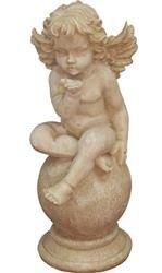Figurka Anioł Kamienny Posyłający Całusa 33x13x17