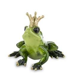 Figurka Żaba Królewna nadzieja na miłość H: 12 cm