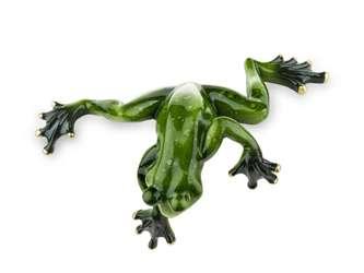 Figurka Żaba Zielona skacząca 6x16x10