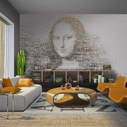 Fototapeta - Zapiski Leonarda da Vinci