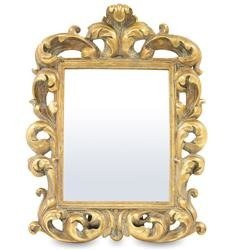 Lustro stylizowane złota rama 43x33x4,5