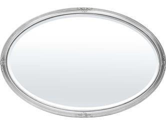 Lustro stylowe klasyczne srebrna rama  78x118cm