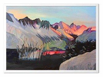 """Obraz """"Abstrakcje"""" - olejny, ręcznie malowany 53x73cm"""
