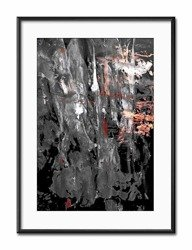"Obraz ""Abstrakcje"" reprodukcja 31x41cm"