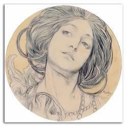 Obraz - Alfons Mucha reprodukcja 40x40cm