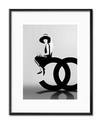 """Obraz """"Audrey Hepburn"""" reprodukcja 21x26cm"""