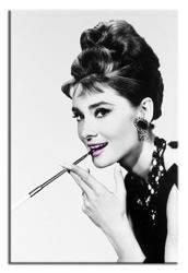 """Obraz """"Audrey Hepburn"""" reprodukcja 50x70 cm"""