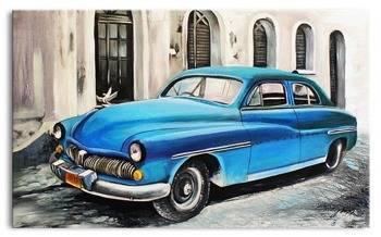 """Obraz """"Automobile"""" ręcznie malowany 200x125cm"""