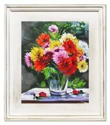 """Obraz """"Bukiety mieszane """" ręcznie malowany 35x40cm"""