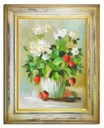 """Obraz """"Bukiety mieszane """" ręcznie malowany 37x47cm"""