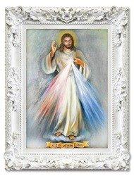 """Obraz """"Chrystus"""" ręcznie malowany 85x115cm"""