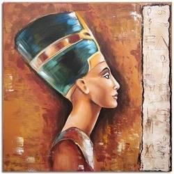 """Obraz """"Egipt"""" ręcznie malowany 60x60cm"""
