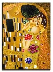 """Obraz """"Gustaw Klimt"""" ręcznie malowany 50x70cm"""