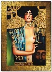 """Obraz """"Gustaw Klimt"""" ręcznie malowany 78x108cm"""