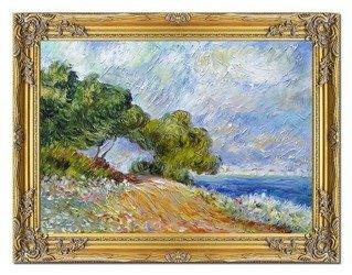 """Obraz """"Impresjonisci"""" ręcznie malowany 63x84cm"""