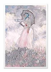 """Obraz """"Impresjonisci"""" ręcznie malowany 63x93cm"""
