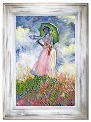 """Obraz """"Impresjonisci"""" ręcznie malowany 86x116cm"""