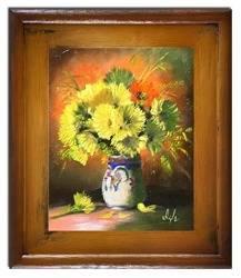"""Obraz """"Inne"""" ręcznie malowany 30x35cm"""