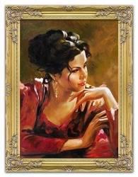 """Obraz """"Inne"""" ręcznie malowany 63x84cm"""