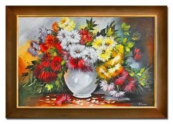 """Obraz """"Inne"""" ręcznie malowany 75x105cm"""