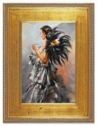 """Obraz """"Inne"""" ręcznie malowany 92x122cm"""