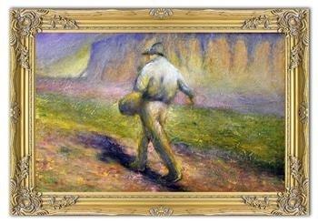 """Obraz """"Inni"""" ręcznie malowany 75x105cm"""