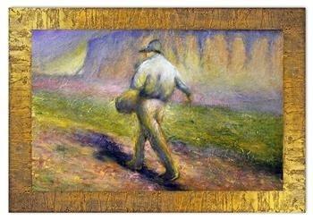 """Obraz """"Inni"""" ręcznie malowany 78x108cm"""