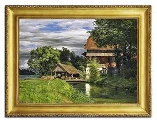 """Obraz """"Krajobrazy"""" reprodukcja 53x73cm"""