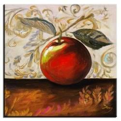 """Obraz """"Kuchenne"""" ręcznie malowany 30x30cm"""