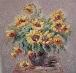 Obraz Kwiaty 60 x 70