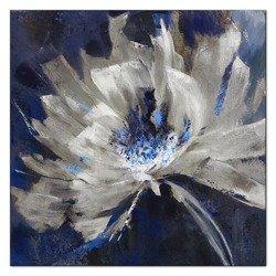 """Obraz """"Kwiaty nowoczesne"""" - olejny, ręcznie malowany 40x40cm"""