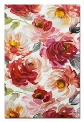 """Obraz """"Kwiaty nowoczesne"""" ręcznie malowany 60x90 cm"""