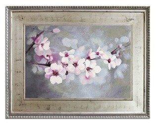 """Obraz """"Kwiaty nowoczesne"""" ręcznie malowany 92x122cm"""
