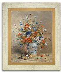 """Obraz """"Kwiaty"""" reprodukcja 27x32cm"""