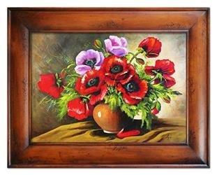 """Obraz """"Maki"""" ręcznie malowany 87x117cm"""