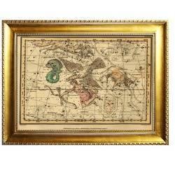 Obraz - Mapy 64x84cm