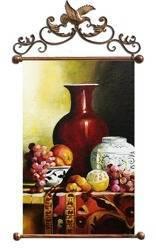 """Obraz """"Martwa natura tradycyjna"""" ręcznie malowany 67x100cm"""