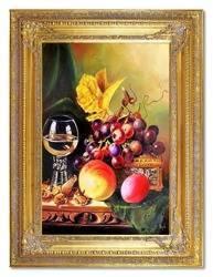 """Obraz """"Martwa natura tradycyjna"""" ręcznie malowany 90x120cm"""