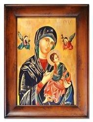 """Obraz """"Maryja"""" ręcznie malowany 87x117cm"""