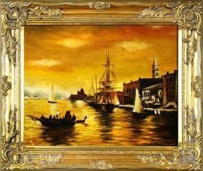 Obraz - Marynistyka - olejny, ręcznie malowany 54x63cm