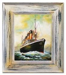 """Obraz """"Marynistyka"""" ręcznie malowany 66x76cm"""