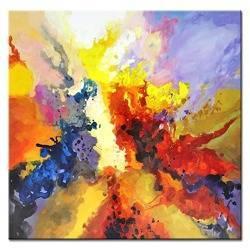 Obraz - NOWOŚCI - olejny, ręcznie malowany 100x100cm