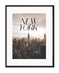 "Obraz ""New York"" reprodukcja 21x26cm"