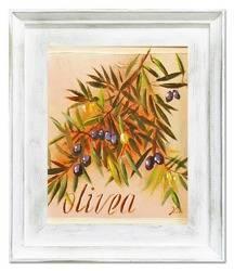 """Obraz """"Oliwka"""" ręcznie malowany 27x32cm"""