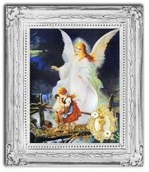 """Obraz """"Pamiatki komunijne"""" ręcznie malowany 30x35cm"""