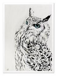 """Obraz """"Zwierzęta"""" ręcznie malowany 53x73cm"""
