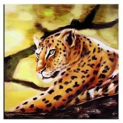 """Obraz """"Zwierzęta"""" ręcznie malowany 60x60cm"""