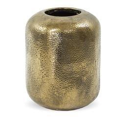 Osłonka Wazon Ceramiczna Złota 33x23x23